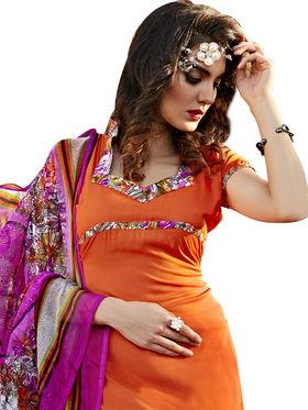 Viva N Diva Printed Unstiched Dress Material_11075-Stella