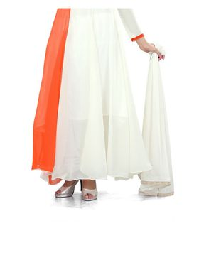 Fabfiza Printed Georgette Semi-Stitched Anarkali Suit - FB-6303