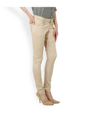 Women Slim Fit Cotton Lycra Stretchable Trouser - TGLCH-1