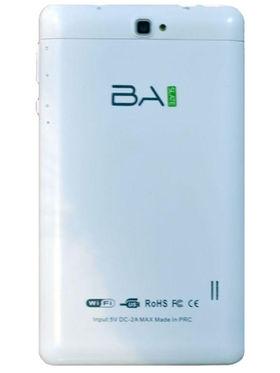 BaSlate 7-38 (RAM : 512 MB  ROM : 8GB)7 Inch with Wi-Fi + 3G Calling Tab(White)