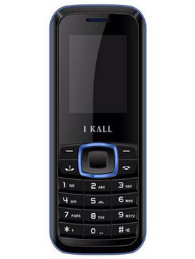I Kall K19 Dual SIM Mobile Phone (Black Blue)