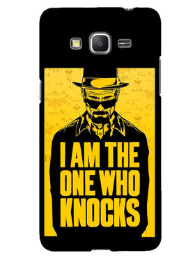 Snooky Designer Print Hard Back Case Cover For Samsung Galaxy Core Prime G360H - Yellow