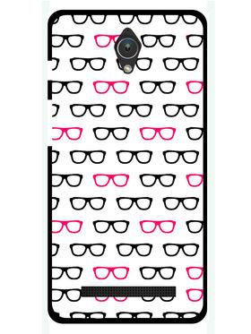 Snooky Designer Print Hard Back Case Cover For Asus Zenfone C ZC451CG - White