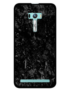 Snooky Designer Print Hard Back Case Cover For Asus Zenfone Selfie ZD551KL - Black