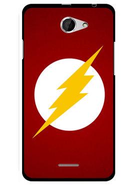 Snooky Designer Print Hard Back Case Cover For HTC Desire 516 - Red