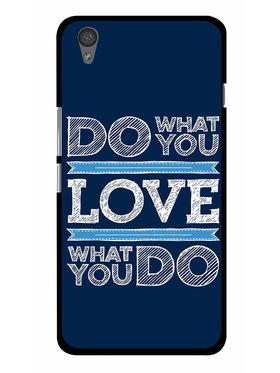 Snooky Designer Print Hard Back Case Cover For OnePlus X - Blue