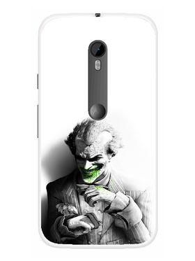 Snooky Designer Print Hard Back Case Cover For Motorola Moto G (Gen 3) - Grey