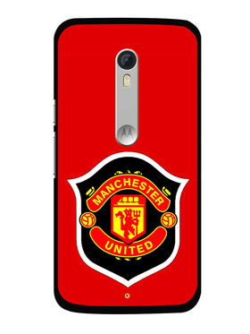 Snooky Designer Print Hard Back Case Cover For Motorola Moto X Play - Red