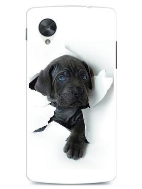 Snooky Designer Print Hard Back Case Cover For LG Google Nexus 5 - White