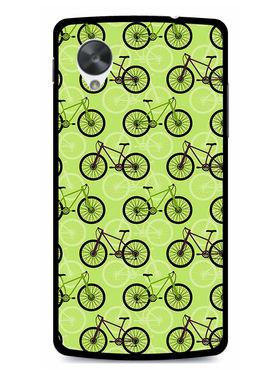 Snooky Designer Print Hard Back Case Cover For LG Google Nexus 5 - Cream
