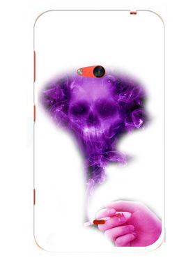 Snooky Designer Print Hard Back Case Cover For Nokia Lumia 625 - Purple