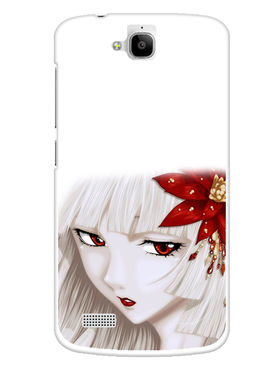 Snooky Designer Print Hard Back Case Cover For Huawei Honor Holly - Multicolour