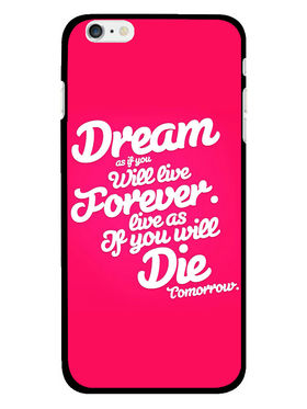 Snooky Designer Print Hard Back Case Cover For Apple iPhone 6S - Rose Pink