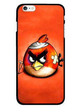 Snooky Designer Print Hard Back Case Cover For Apple iPhone 6S - Orange