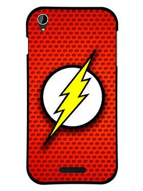 Snooky Designer Print Hard Back Case Cover For Lava Iris X1 mini - Red