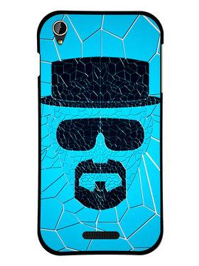 Snooky Designer Print Hard Back Case Cover For Lava Iris X1 mini - Blue