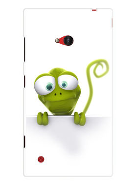 Snooky Designer Print Hard Back Case Cover For Nokia Lumia 720 - Green