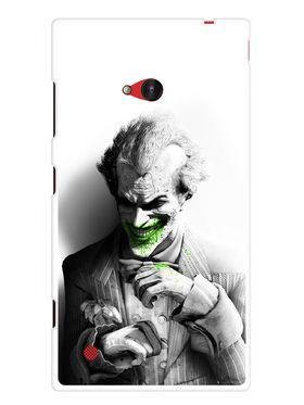 Snooky Designer Print Hard Back Case Cover For Nokia Lumia 720 - Grey