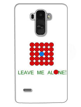 Snooky Digital Print Hard Back Case Cover For LG G4 Stylus - White