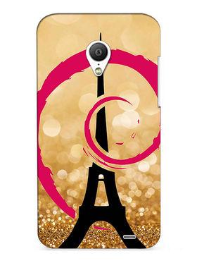 Snooky Digital Print Hard Back Case Cover For Meizu MX3 - Golden
