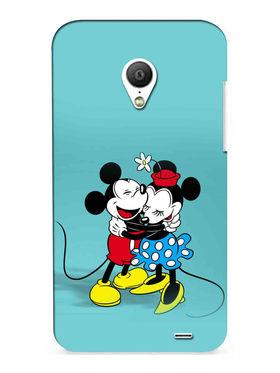 Snooky Digital Print Hard Back Case Cover For Meizu MX3 - Blue