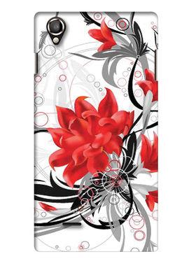 Snooky Digital Print Hard Back Case Cover For Lava Iris 800 - White