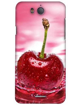 Snooky Digital Print Hard Back Case Cover For InFocus M530 - Rose Pink