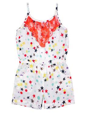 ShopperTree Printed Multicolor Cotton Jumpsuit -ST-1636_6-12M