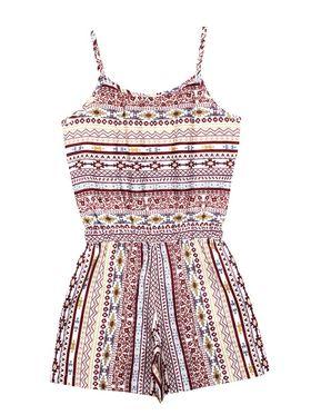 ShopperTree Printed Multicolor Viscose Jumpsuit -ST-1639_2-3Y