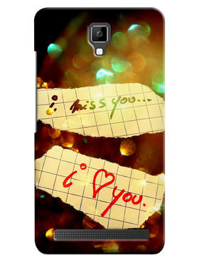 Snooky Digital Print Hard Back Case Cover For Micromax Bolt Q331 - Brown