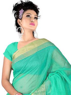 Adah Fashions Light Green South Silk Saree -888-111