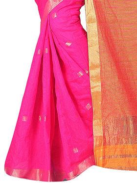 Adah Fashions Pink South Silk Saree -888-139