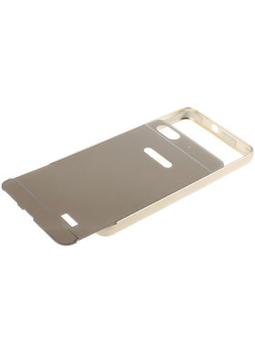 Aeoss 2 in 1 Aluminum Metal Frame Bumper Case & Back Cover For Honor 5x - Golden