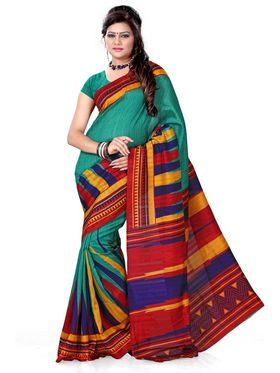 Pack of 3 Adah Fashions Printed Bhagalpuri Sarees