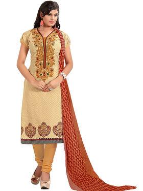 Khushali Fashion Cotton Self Dress Material -Bgssnr44003