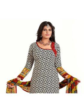 Khushali Fashion Cotton Self Dress Material -Bgssnr44013