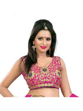 Styles Closet Designer Banglori & Net Semi Stitched Lehenga Choli -Bnd-Pc5011