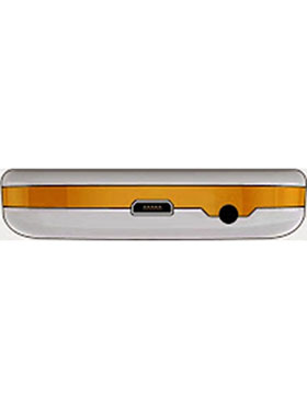 BQ K28 - White & Orange 2.8 Inch Display, 2MP Camera, FM, Bluetooth, GPRS, Dual Sim Mobile
