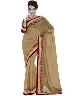 Beautiful Pack of 2 Embroidered Sarees - By Bahubali