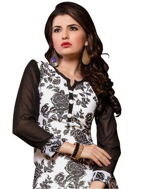 Khushali Fashion Georgette Printed Stitched Kurti -Cnt1752