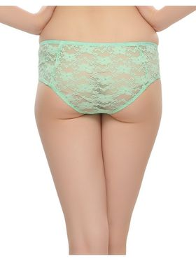 Pack of 3  Clovia Nylon Lace Embroidered Brief -Combopn49