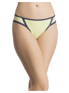 Pack of 3  Clovia Polyamide Solid Brief -Combopn70