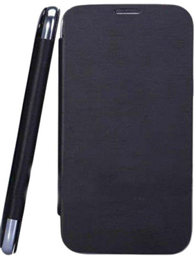 Camphor Flip Cover for Micromax A94 - Black