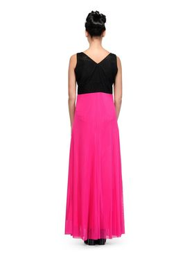 Arisha Viscose Solid Dress DRS1027_Pnk