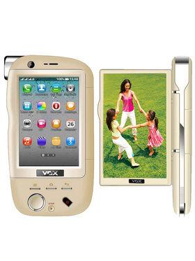 VOX 4 SIM Touch Dual Camera Mobile cum Camcorder - DV20