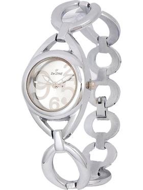 Dezine Wrist Watch for Women - Silver_DZ-LR200-SLV-CH