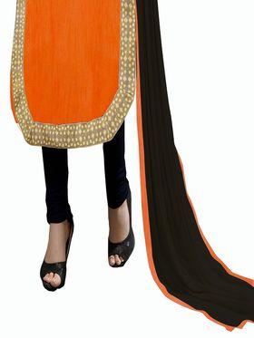 Khushali Fashion Bangalori Silk Embroidered Unstitched Dress Material -ESK602