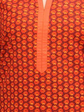Branded Cotton Printed Kurtis -Ewsk0615-1373