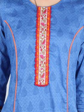 Branded Cotton Printed Kurtis -Ewsk0715-1415