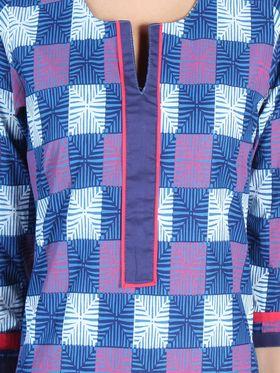 Branded Cotton Printed Kurtis -Ewsk0715-1417